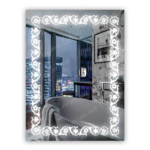 Зеркало с Led подсветкой D7 (600×800мм)