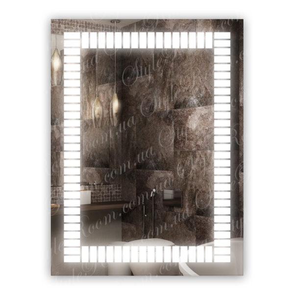 Зеркало с Led подсветкой D16 (600×800мм)