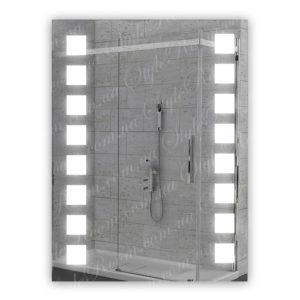 Зеркало с Led подсветкой D26 (600×800мм)