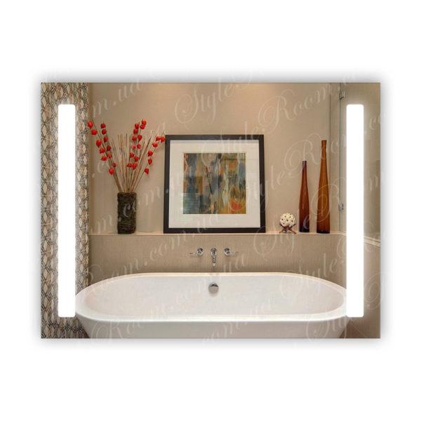 Зеркало с Led подсветкой D36 (800×600мм)
