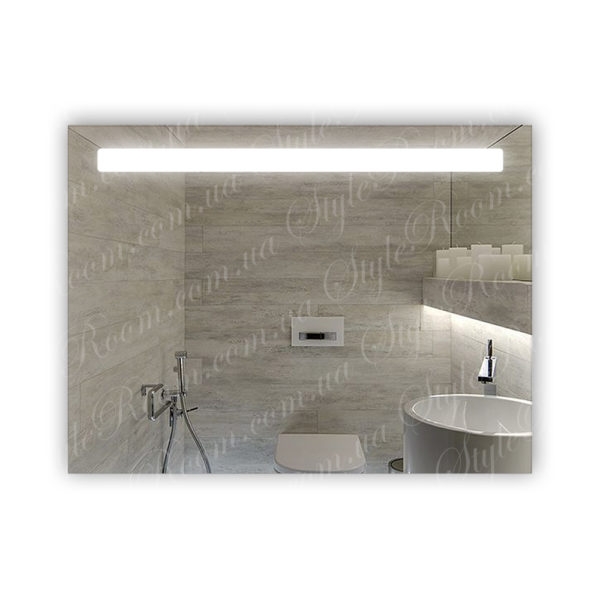 Зеркало с Led подсветкой D37 (800×600мм)
