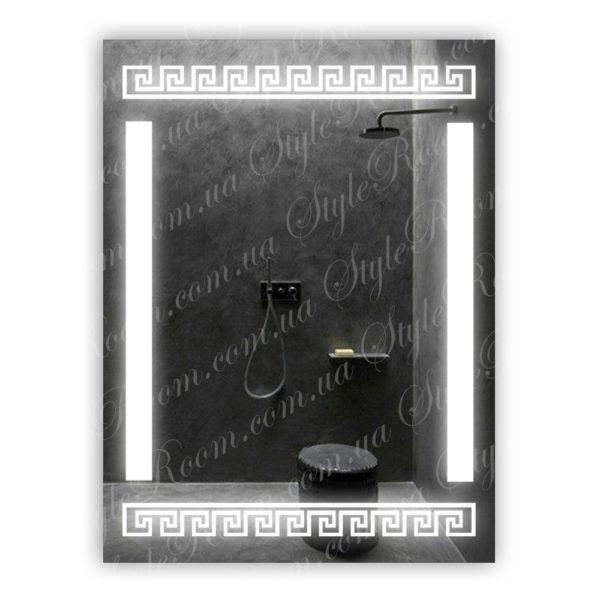 Зеркало с Led подсветкой D50 (600×800мм)