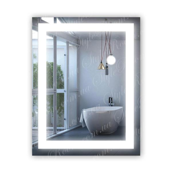 Зеркало с Led подсветкой D54 (530×680мм)