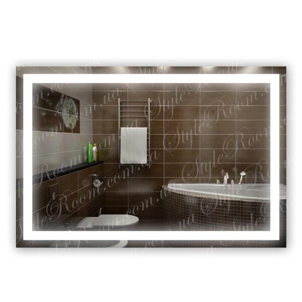 Зеркало с Led подсветкой D58 (1200×800мм)1