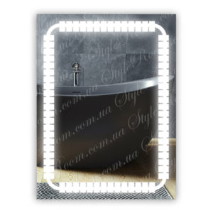 Зеркало с Led подсветкой D64 (600×800мм)
