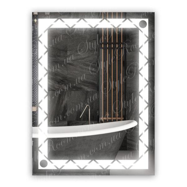 Зеркало с Led подсветкой D65 (600×800мм)