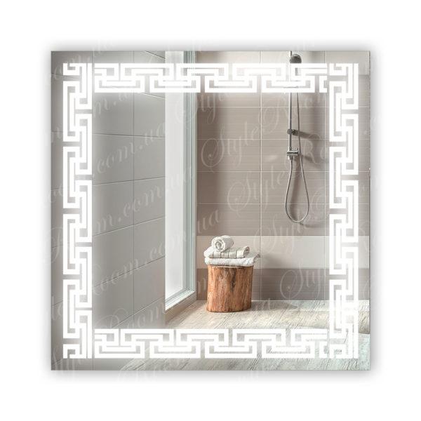 Зеркало с Led подсветкой D69 (800×800мм)