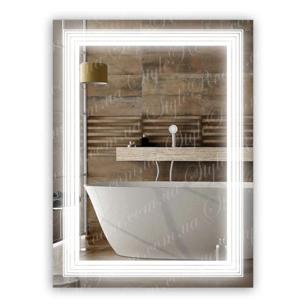 Зеркало с Led подсветкой D71 (600×800мм)