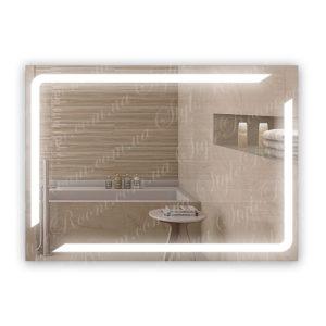 Зеркало с Led подсветкой D73 (1000×700мм)
