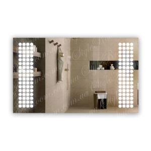 Зеркало с Led подсветкой D84 (1000×600мм)