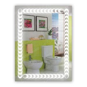 Зеркало с Led подсветкой D88 (600×800мм)