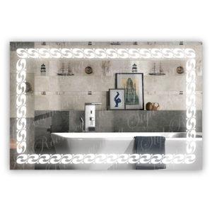 Зеркало с Led подсветкой D90 (900×600мм)