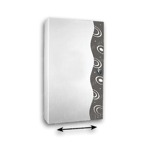 Зеркальный шкаф для ванной Ш801 (400x700мм)