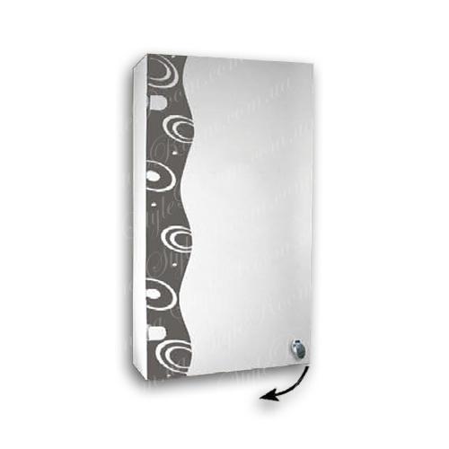 Зеркальный шкаф для ванной Ш803 (400×700мм)