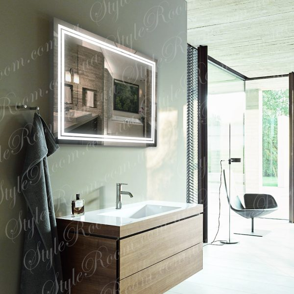 Зеркало с Led подсветкой D81 (1000×800мм)а2