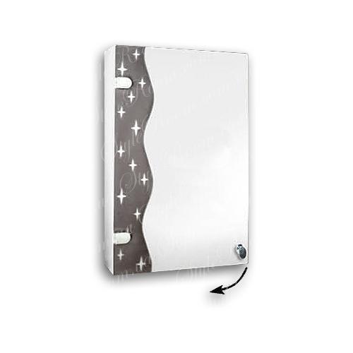 Зеркальный шкаф для ванной Ш824 (400×635мм)