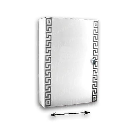 Зеркальный шкаф для ванной Ш828 (365×535мм)