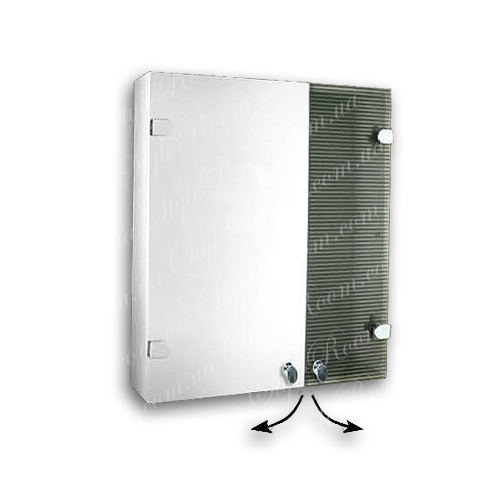 Зеркальный шкаф для ванной Ш842 (535×640мм)