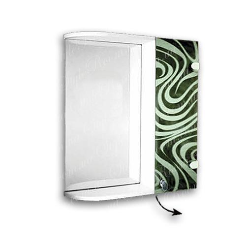 Зеркальный шкаф для ванной Ш845 (535×640мм)