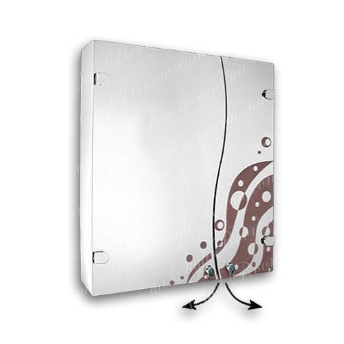 Зеркальный шкаф для ванной Ш856 (600×700мм)