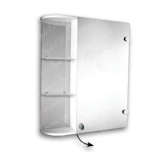 Зеркальный шкаф для ванной Ш870 (600×700мм)