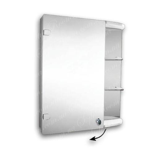 Зеркальный шкаф для ванной цена Харьков Ш871 (600x700мм)