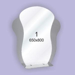 Зеркало для ванной комнаты F1 (650х800мм)