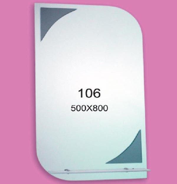 Зеркало для ванной комнаты F106 (500х800мм)