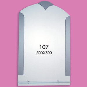 Зеркало для ванной комнаты F107 (500х800мм)
