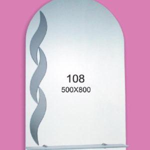 Зеркало для ванной комнаты F108 (500х800мм)