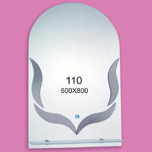 Зеркало для ванной комнаты F110 (500х800мм)