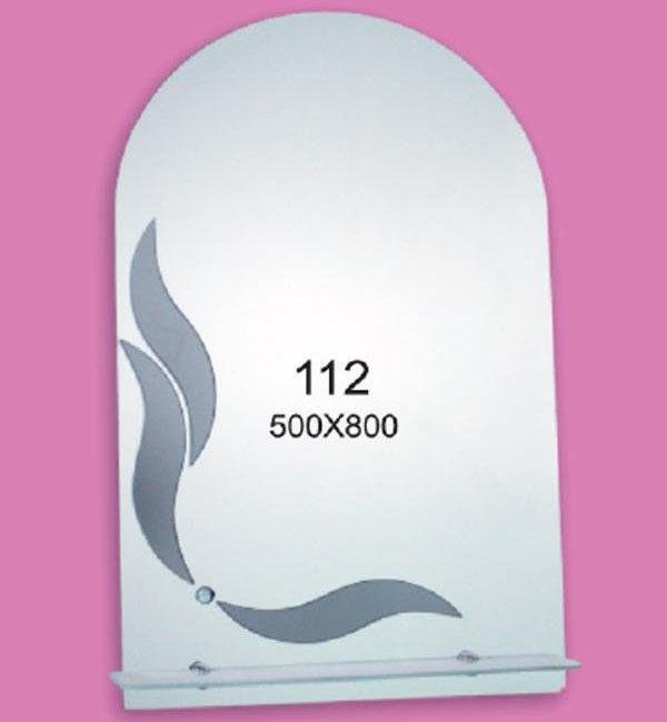 Зеркало для ванной комнаты F111 (500х800мм)