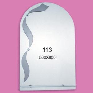 Зеркало для ванной комнаты F113 (500х800мм)