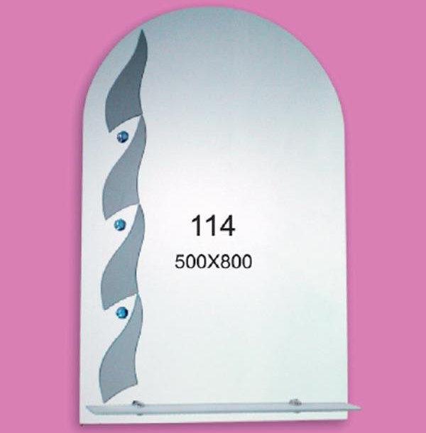 Зеркало для ванной комнаты F114 (500х800мм)
