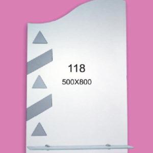 Зеркало для ванной комнаты F118 (500х800мм)