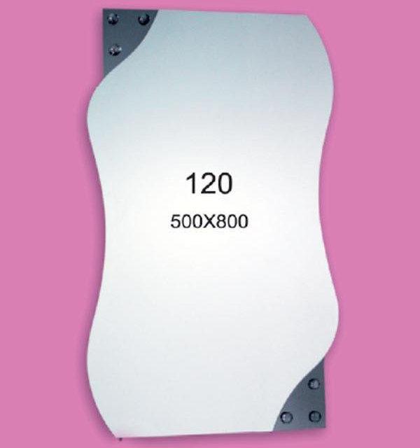 Зеркало для ванной комнаты F120 (500х800мм)