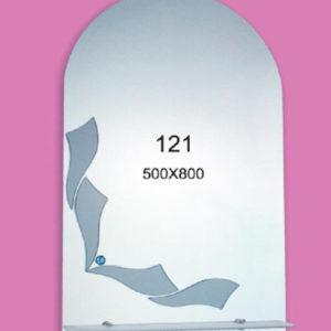 Зеркало для ванной комнаты F121 (500х800мм)