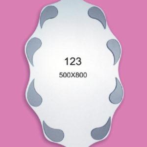Зеркало для ванной комнаты F123 (500х800мм)