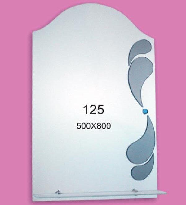 Зеркало для ванной комнаты F125 (500х800мм)