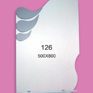 Зеркало для ванной комнаты F126 (500х800мм)