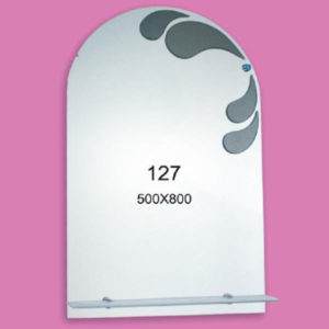 Зеркало для ванной комнаты F127 (500х800мм)
