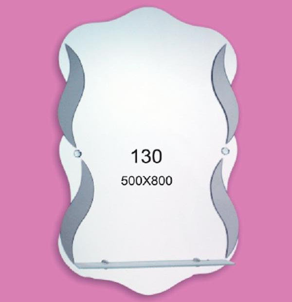 Зеркало для ванной комнаты F130 (500х800мм)