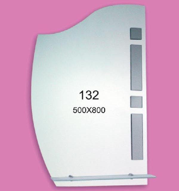 Зеркало для ванной комнаты F132 (500х800мм)