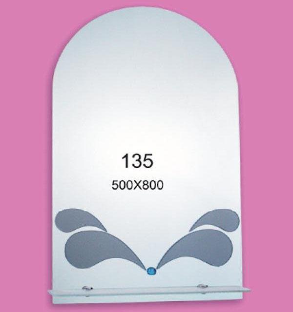 Зеркало для ванной комнаты F135 (500х800мм)