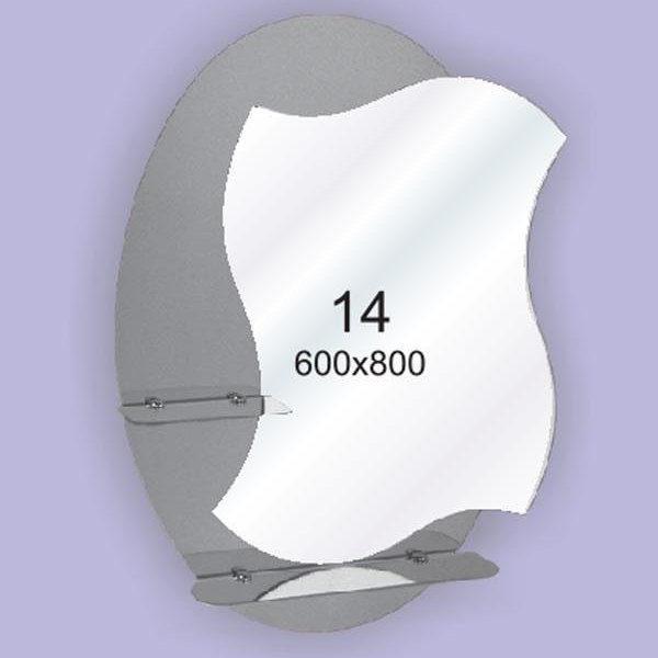 Зеркало для ванной комнаты F14 (600х800мм)
