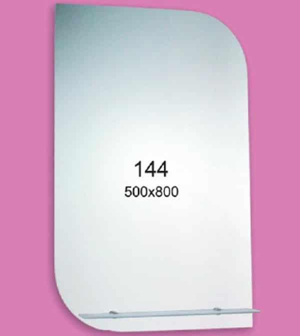 Зеркало для ванной комнаты F144 (500х800мм)