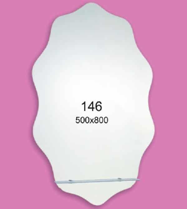 Зеркало для ванной комнаты F146 (500х800мм)