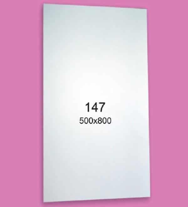 Зеркало для ванной комнаты F147 (500х800мм)