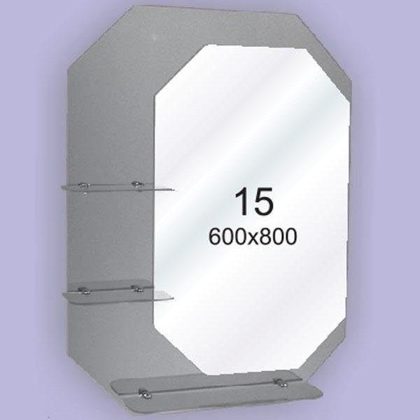 Зеркало для ванной комнаты F15 (600х800мм)