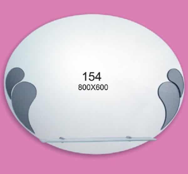 Зеркало для ванной комнаты F154 (800х600мм)